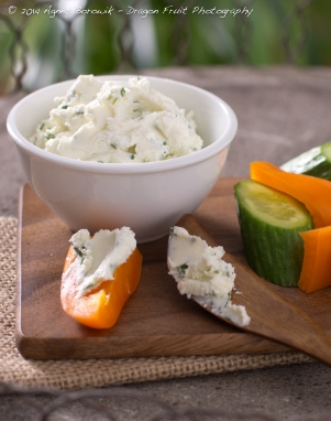 Tarragon Goat Cheese Spread-Agnes_Borowik_food_photography