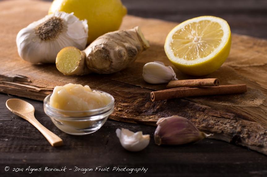 dragonfruitphotography_ginger_garlic_lemon_cinamon
